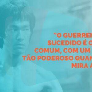 Frase do Bruce Lee sobre prospecção de clientes