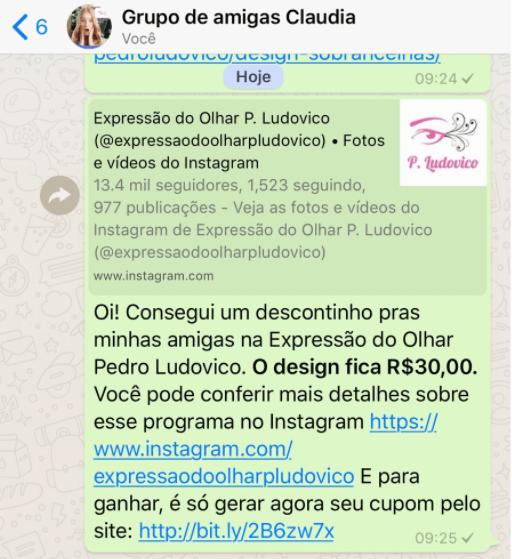 vendas por indicacao grupo de whatsapp