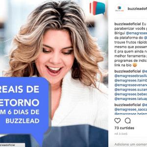 Como o buzzlead compartilha o sucesso dos clientes defensores da marca